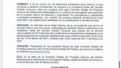 Photo of Impedirían registro de Adela Collado como precandidata de Gutiérrez Zamora