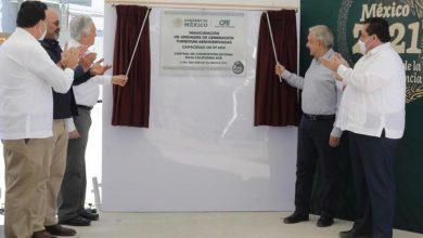 Photo of López Obrador inaugura unidades de Turbogas de CFE en Baja Sur