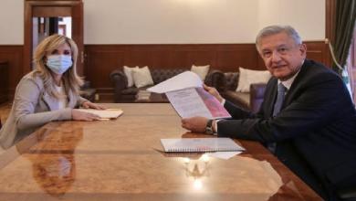 Photo of Pavlovich presenta a AMLO temas a impulsar como presidenta de CONAGO