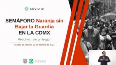 Photo of CDMX regresa a semáforo naranja… sin bajar la guardia