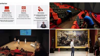 Photo of Cines, teatros y museos reanudarán actividades en CDMX