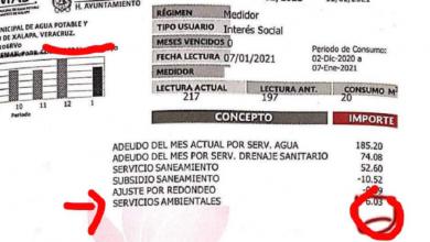 Photo of Va Omar Miranda contra cobro de servicios ambientales en Xalapa