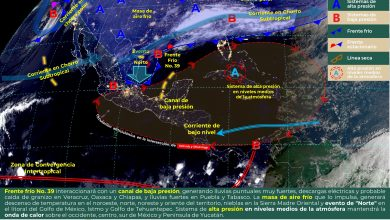 """Photo of Lluvias y evento de """"Norte"""" con rachas de hasta 90 km/h en Veracruz"""