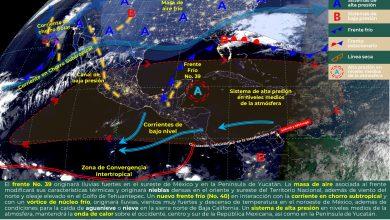 Photo of Advierten lluvias fuertes en el sur de Veracruz
