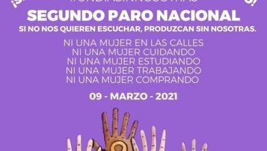 Photo of Convocan a segundo paro nacional de mujeres para el 9M