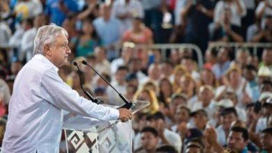 Photo of López Obrador da banderazo a construcción de tramo 5 del Tren Maya