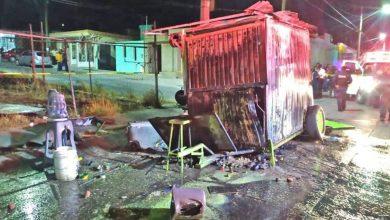 Photo of Tacos al ¿vapor? explota puesto en Aguascalientes