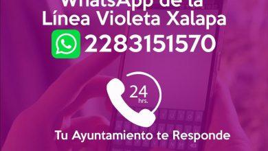 Photo of En Xalapa, inicia atención de violencia contra las mujeres a través de Whatsapp